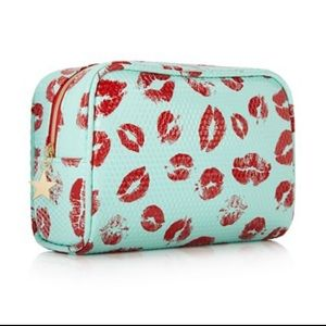 Lip Print Cosmetics Bag